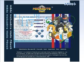 Medabots Movie Website by HikaruAgata