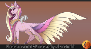 MLP AU Redesign: Cadence by Phoeberia