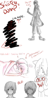 SKETCH DUMP by TheJokersCards