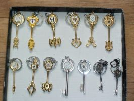 Cosplay Fairy Tail Keys by ImeaHatake