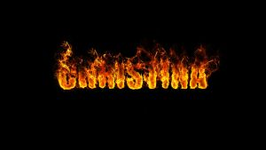 CHRISTINA TEXT ON FIRE by task002