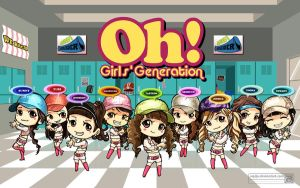 OH Girl's Generation by Supijo