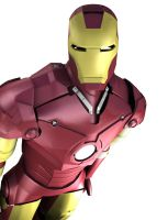 Iron Man 3D by parka