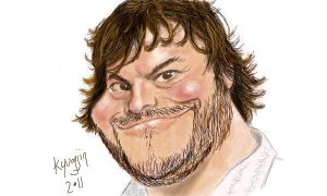 Jack Black by kyungjin74