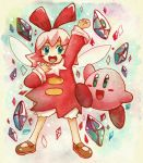 Kirby and Ribbon by scilk