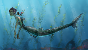Merman George 1 by Bonka-chan