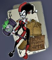 Harley Quinn - Colors by HueVille