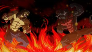 Trials of fire and brimstone by Ohblon