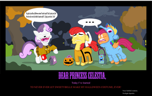 Cutie Mark Crusaders Dress up by GeeksComeOutAtNight