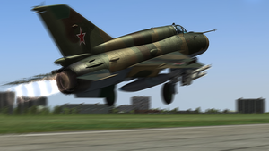 MiG-21 Fishbed #3 by BillyM12345