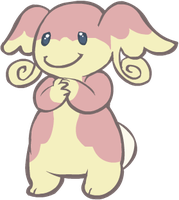 531. Audino by HappyCrumble