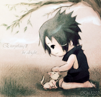 Sasuke:: Little cat by kivi1230