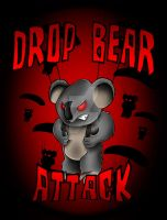 Drop-Bear Attack by Heavy-metal-ink
