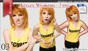 Hayley Williams - Pack 7 png by dreamswoman