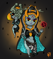 WW Midna - Twilight Princess by Heroine-of-Time-7