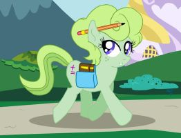 MLP OC:  Greenapple by ARNie00