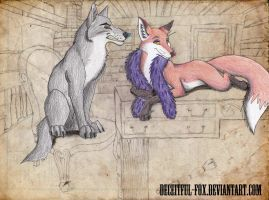 It's Good to be Queen by Deceitful-Fox