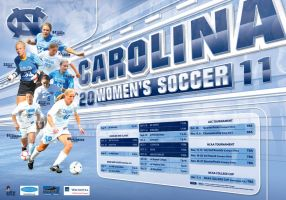 North Carolina Women's Soccer by BHoss1313