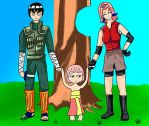 Rock Lee + Sakura? Guu by ShebZlobenAdm