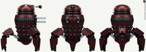Skaro Degradation Spider Dalek by Librarian-bot