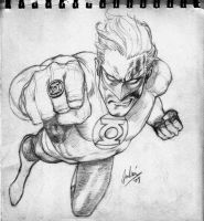 Hal Jordan by julianlopezart