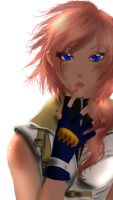 Lightning Final Fantasy XIII by ilostmyheart