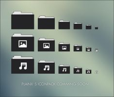 Plainx Iconpack soon... by Metalbone1988