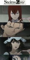 Steins-Gate: Pregnancy Meme redux by texruski94