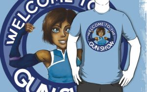 Welcome to the GUN SHOW - T-Shirt by SpazztasticFanGirl