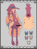 Candle Witch - Collab Adoptable :OPEN: 9days left by CuddlyBunneh