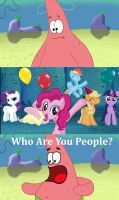 Patrick's Unexpected Pinkie Party by MilesElectric