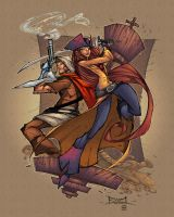 Colt and Evelet by FelipeCagno