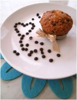Chocolate chips muffin by MeYaIeM
