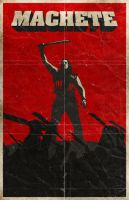 Machete poster by billpyle