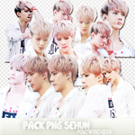Pack PNG Sehun by pomzwon01