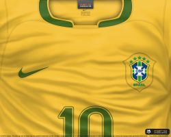 Brasil home shirt 2006 by P3P70
