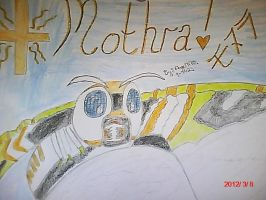 Mothra the Goddess of Peace and Harmony. by Angelgirl10
