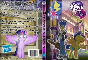 Equestria Girls DVD Cover by iamthemanwithglasses