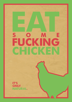 Anti-Vegetarianism Poster by DrPockets