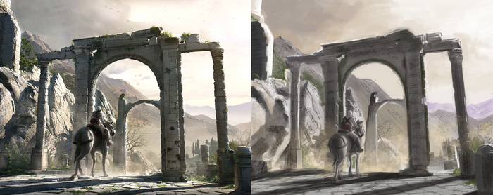 Assassin's Creed Concept Study by JoshuaGraphic