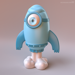 Rocketman toy concept by m7
