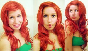 lol ariel wig by Spwinkles