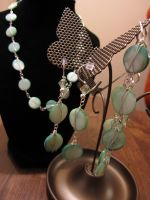 Randi's Shell and Silver Set by Slersk