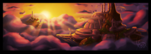Landscape Speed Paint by Omegaro