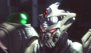 Guyver gigantic Close up by Arifcreations
