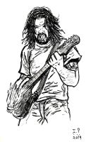 Foo Fighters - Dave Grohl by Turock-X