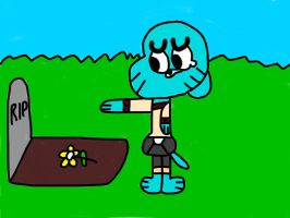 Gumball (A Sad Moment) by MigsGarcia5127