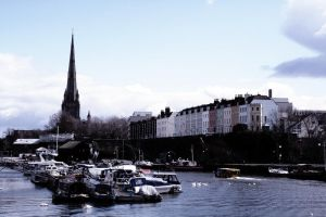 Boats of Bristol by hikaraseru