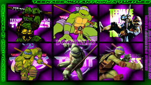 TMNT Generations 2 Wallpaper - Donatello by 2ndCityCrusader