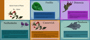 PST 102- Plant booklet by MooniesLove